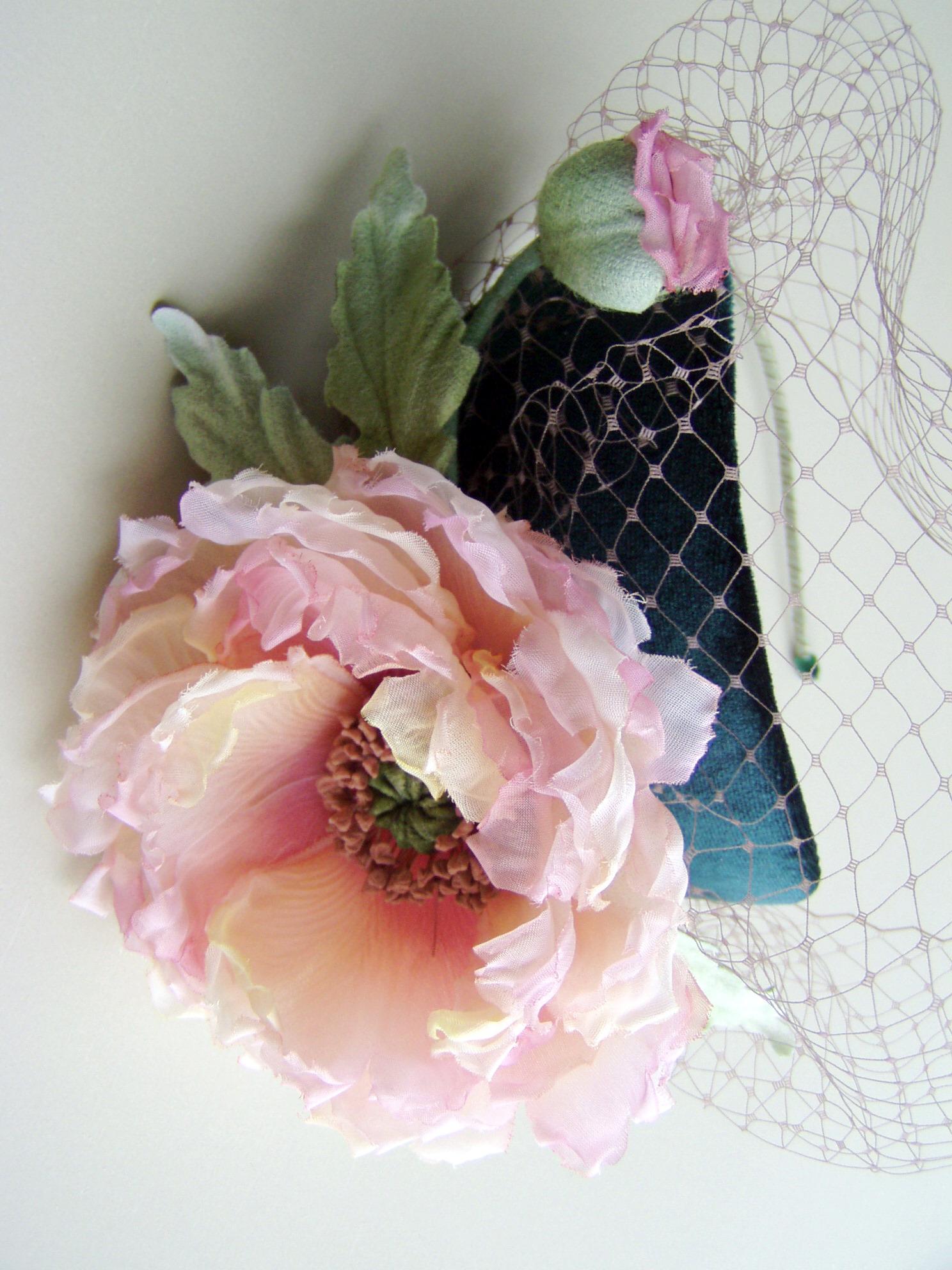 Японские цветы из ткани своими руками мастер класс