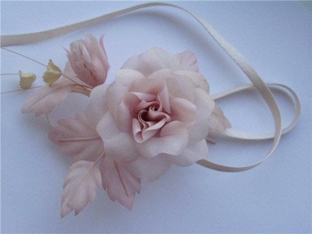 Мастер класс розы из атласных лент. мастер-класс розы из атласных лент